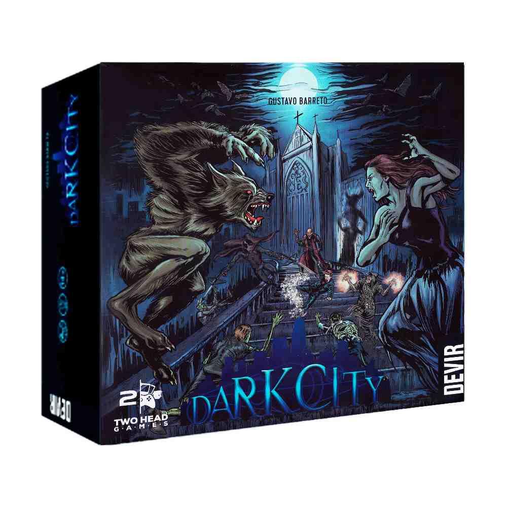 Dark City Jogo de Tabuleiro Devir