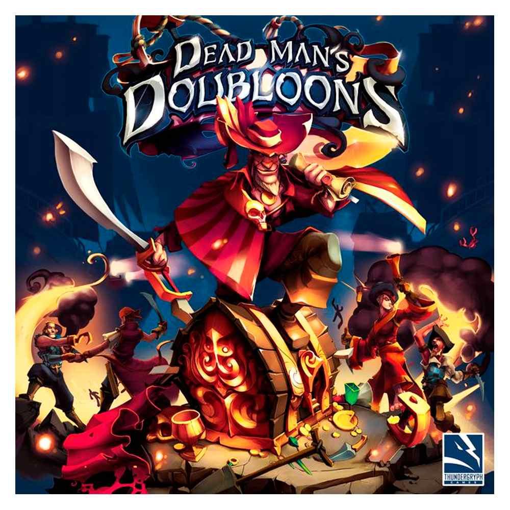 Dead Mans Doubloons Jogo de Tabuleiro