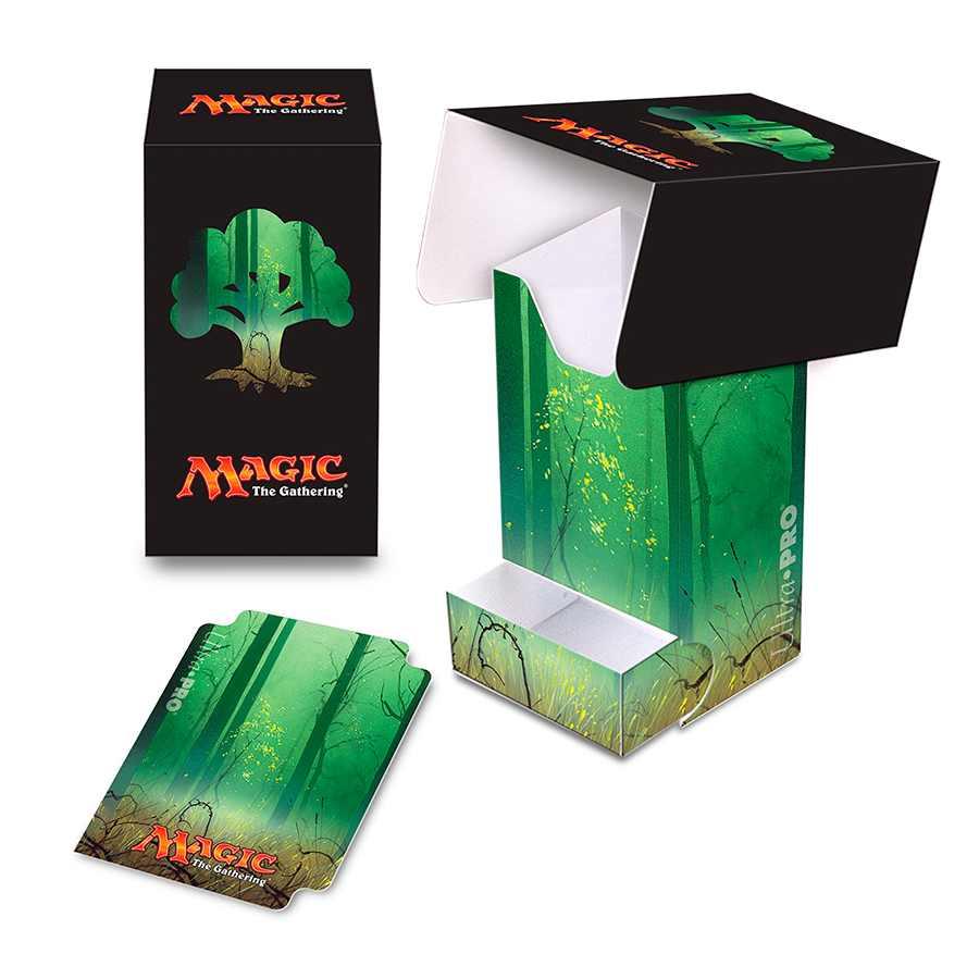 Deck Box Mana 5 Forest Lands Magic