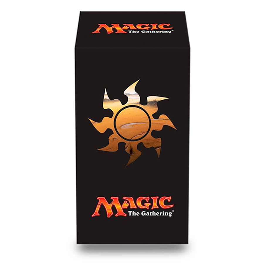 Deck Box Mana 5 Plains Lands Magic