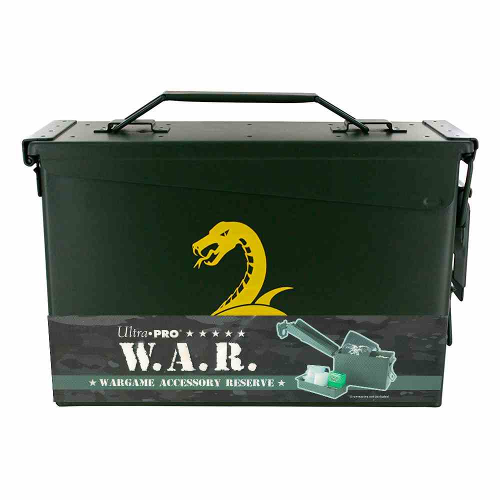 Deck Box Metal War Case Ultra Pro Jungle Desert Night