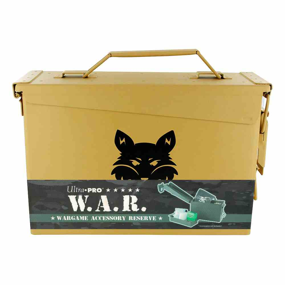 Deck Box Metal War Case Ultra Pro Jungle Desert Night