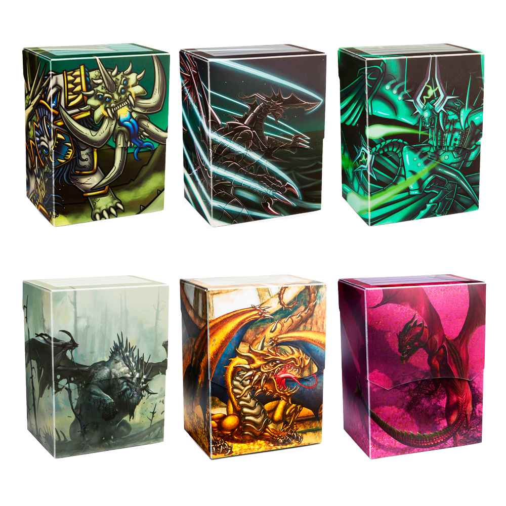 Deck Box Shell Art Dragon Shield Edição Limitada