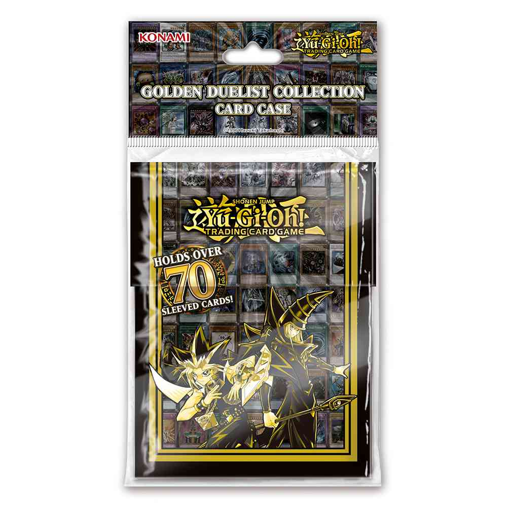 Deck Box Yugioh Golden Duelist Collection Case
