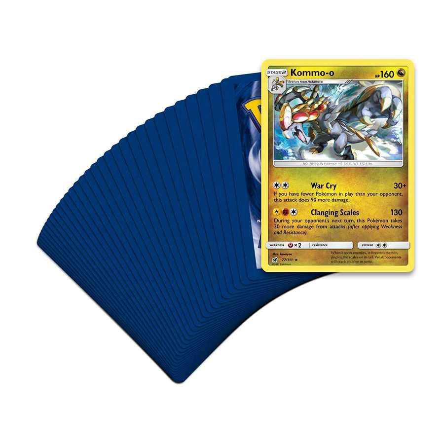 Deck Pokemon Sol e Lua 4 Invasão Carmim Kommo-o