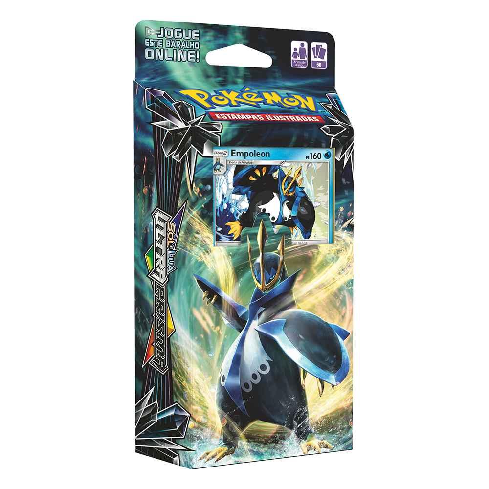 Deck Pokemon Sol e Lua 5 Ultra Prisma Empoleon