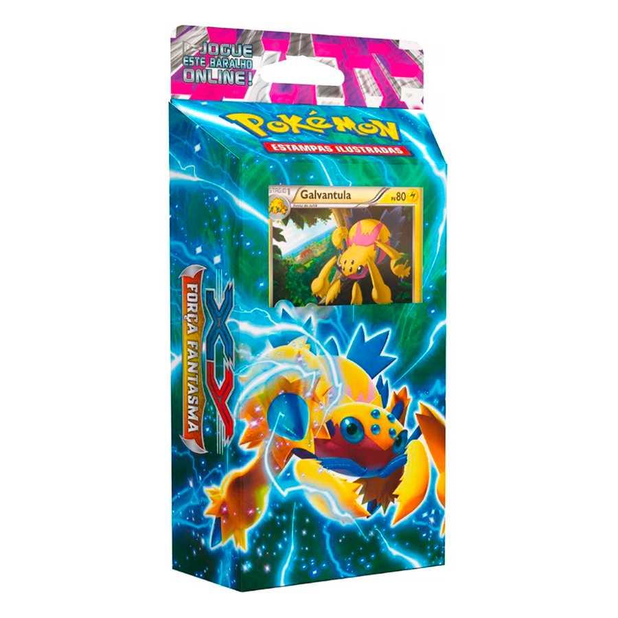 Deck Pokemon XY 4 Força Fantasma Galvantula