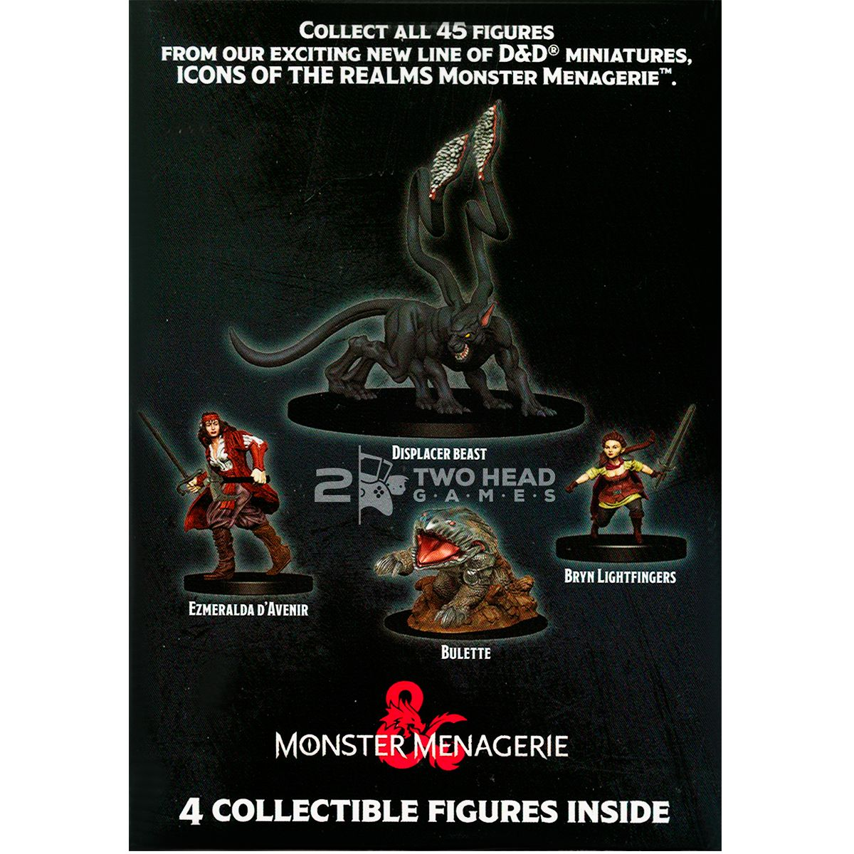 D&D Miniatura Icons of the Realms Monster Menagerie Booster Brick