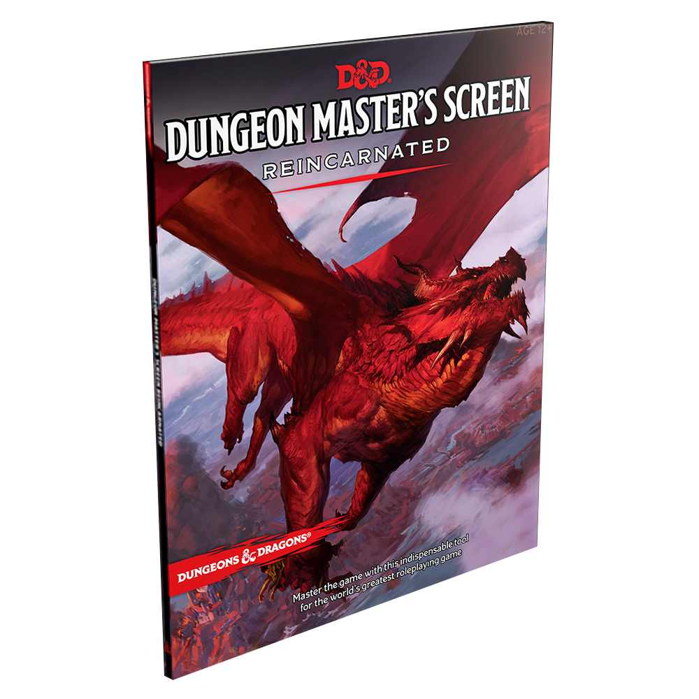 D&D Next Dungeon Masters Screen Reincarnated