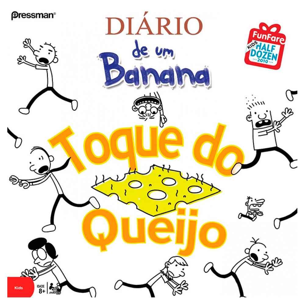 Diário de um Banana - Toque de queijo Jogo de Tabuleiro