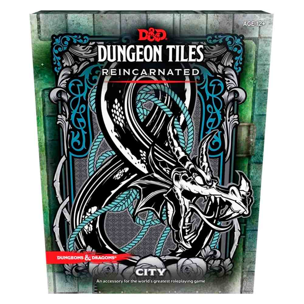 DnD Dungeon Tiles Reincarnated City 5 Edition Rpg