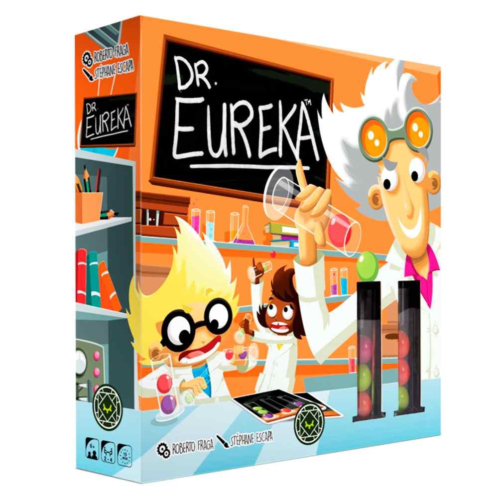 Dr Eureka Jogo de Tabuleiro