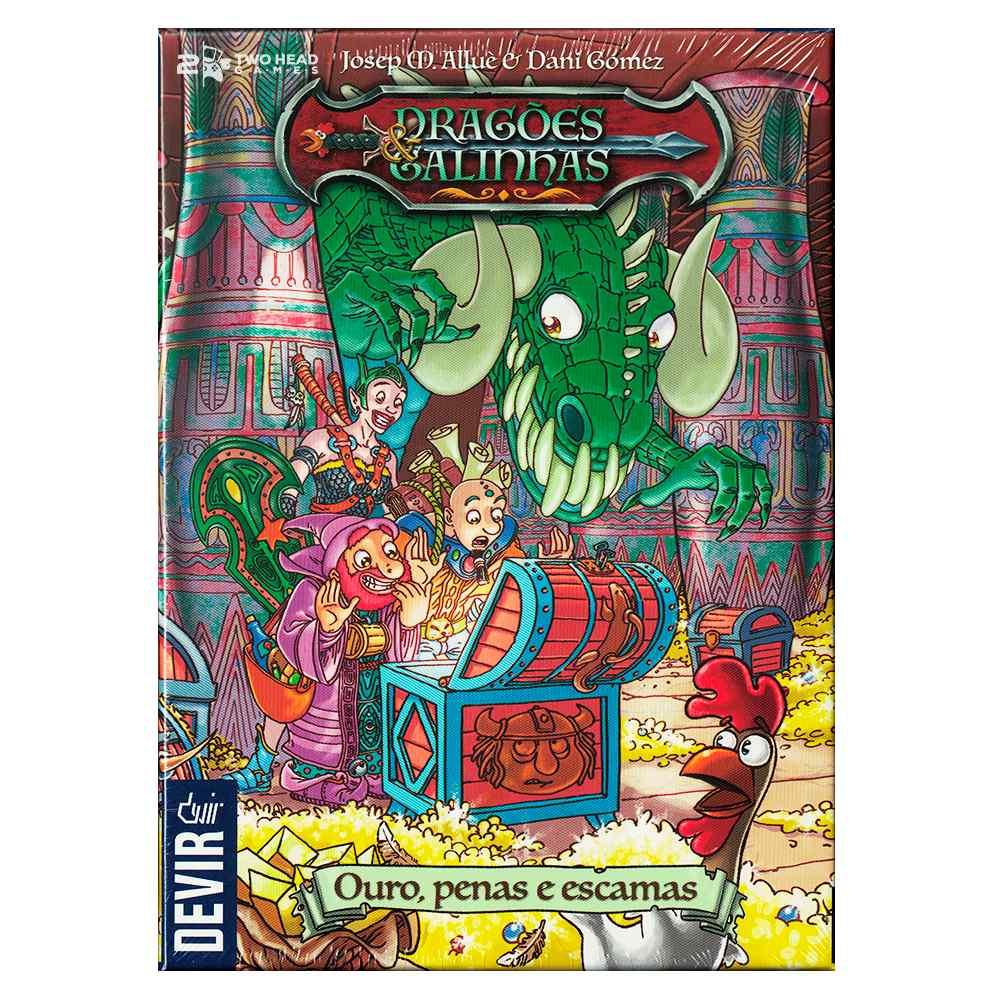 Dragões e Galinhas Jogo de Cartas Devir