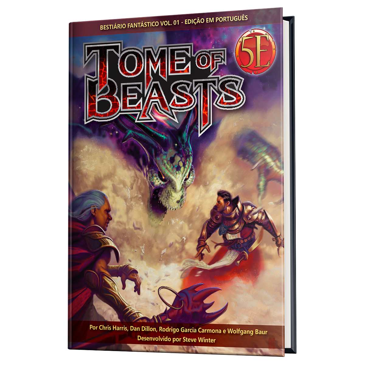 Dungeon Dragons Livro Tome Of Beasts: Bestiário Fantástico Vol 1