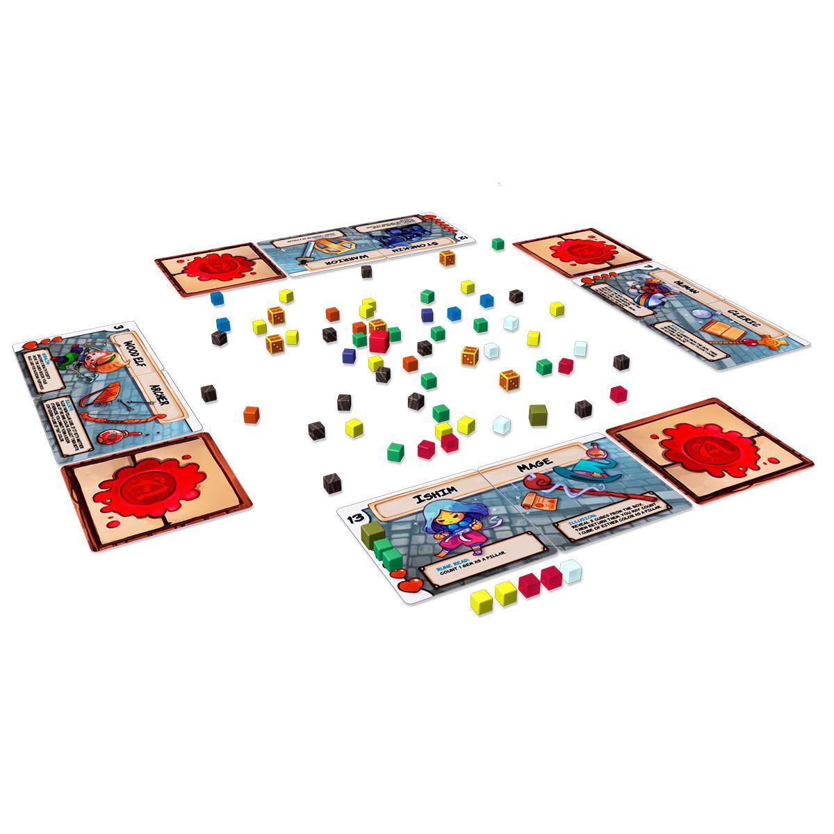 Dungeon Drop Jogo de Tabuleiro Grok Games