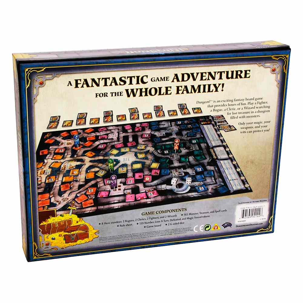 Dungeon Fantasy Board Game - Dungeons & Dragons