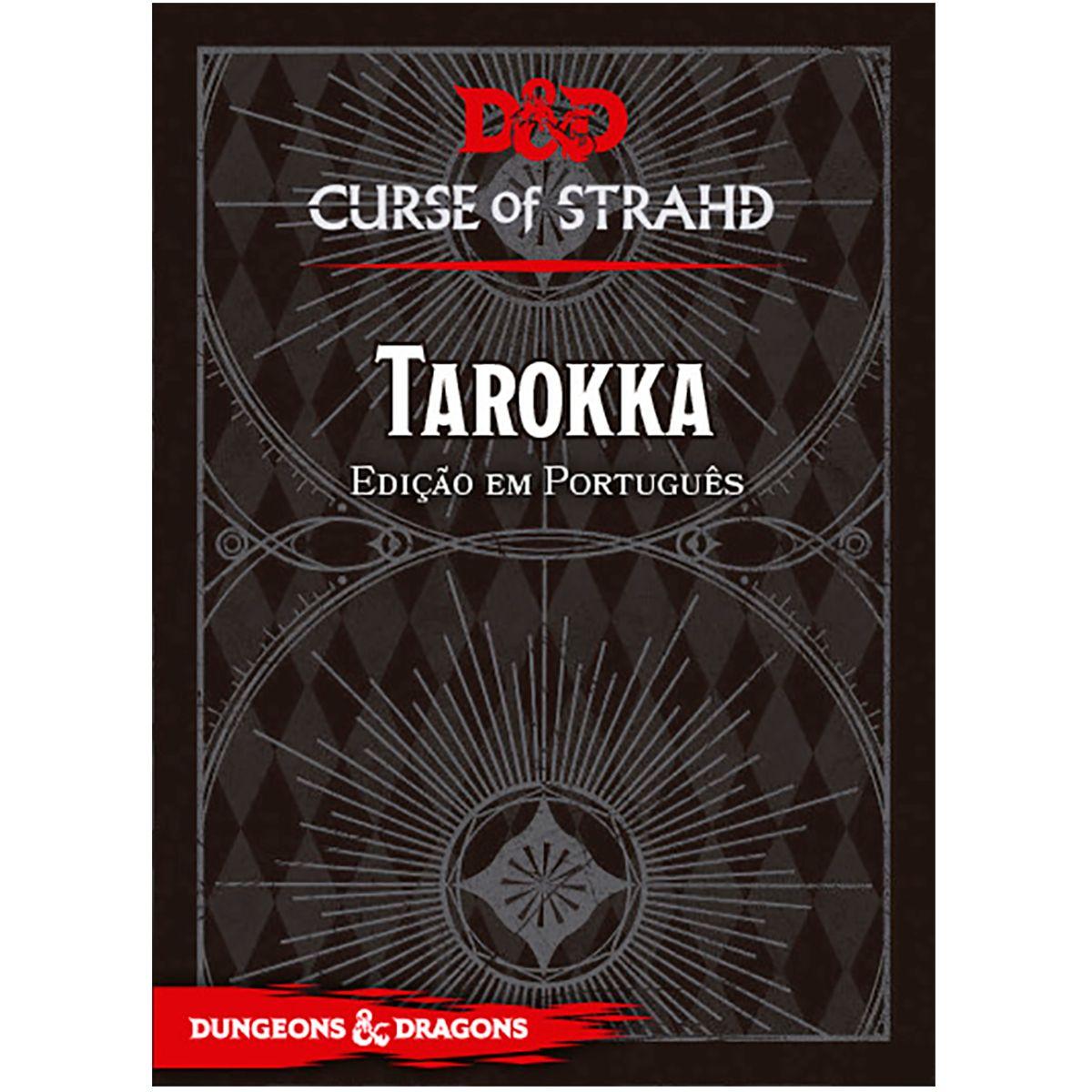 Dungeons and Dragons Curse of Strahd Tarokka Deck Rpg
