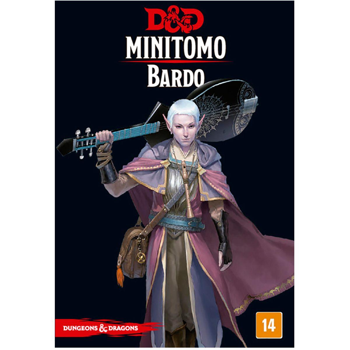 Dungeons and Dragons Minitomo Bardo Deck RPG