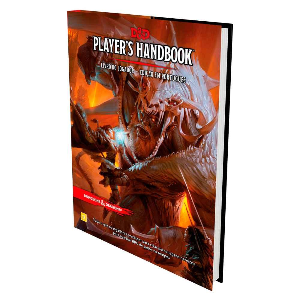 Dungeons And Dragons Players Handbook Livro do Jogador 5 Edição