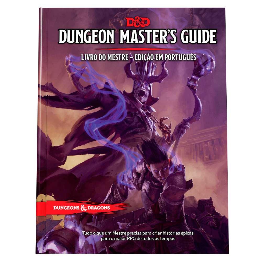 Dungeons Dragons 5 Edição Master s Guide - Livro do Mestre