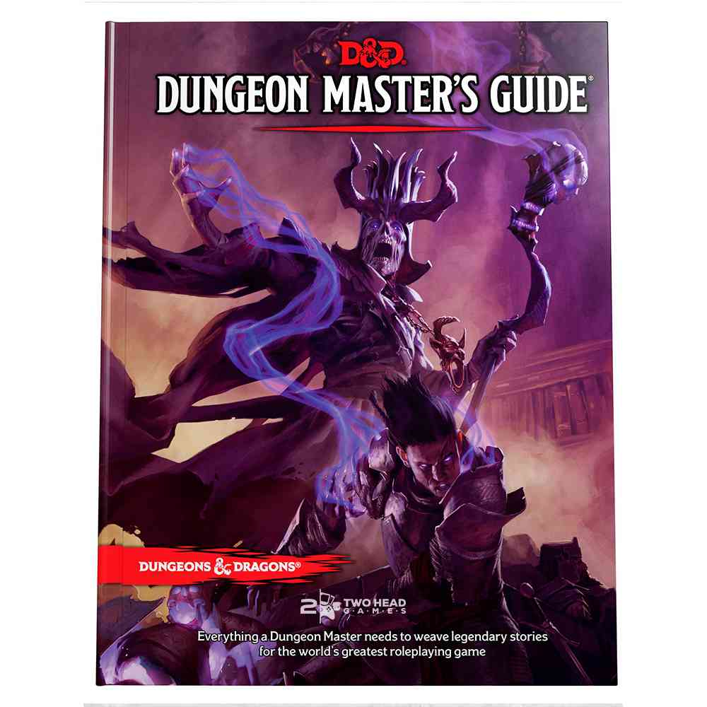 Dungeons Dragons 5 Edition Dungeon Masters Guide Livro Rpg