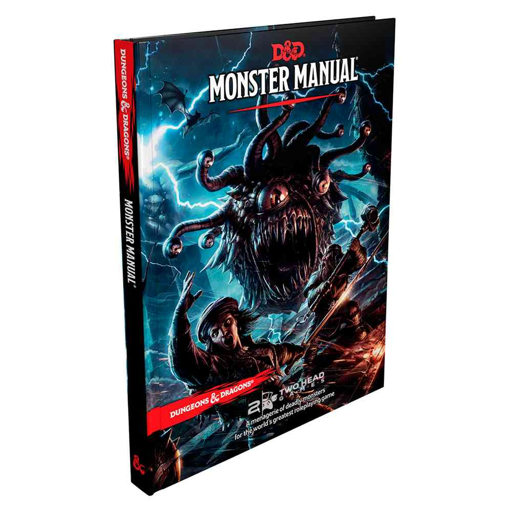 Dungeons Dragons 5 Edition Monster Manual Livro Rpg