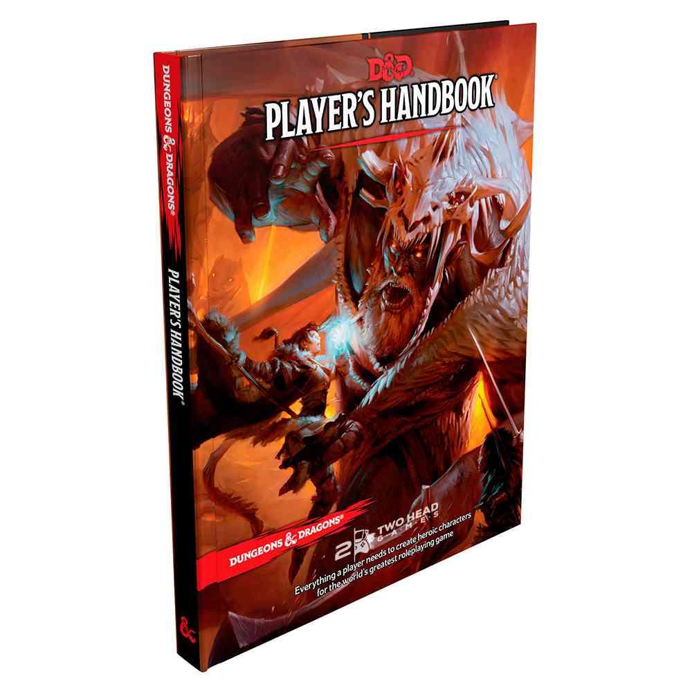 Dungeons Dragons 5 Edition Players Handbook Livro Rpg