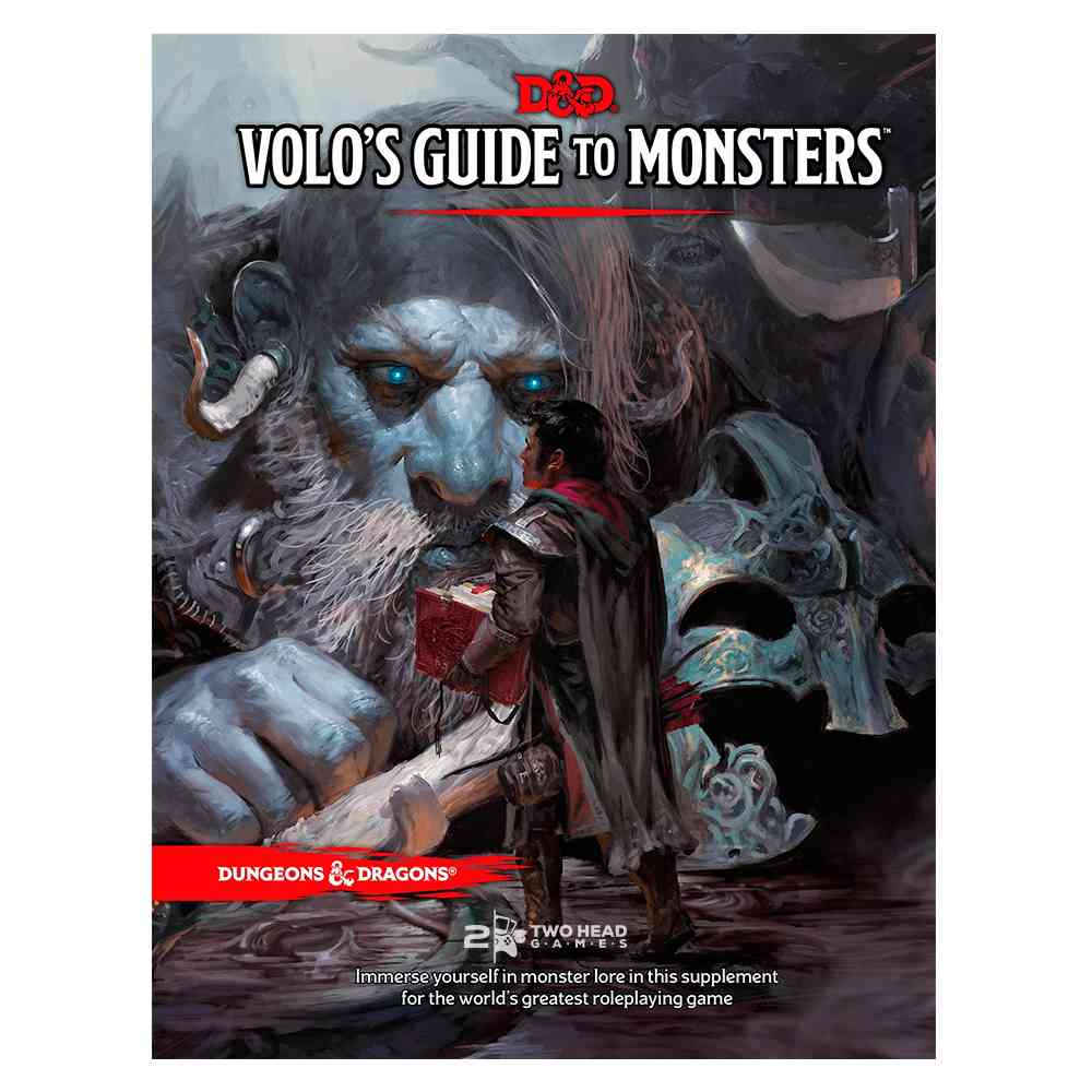 Dungeons Dragons 5 Edition Volos Guide To Monsters Livro Rpg