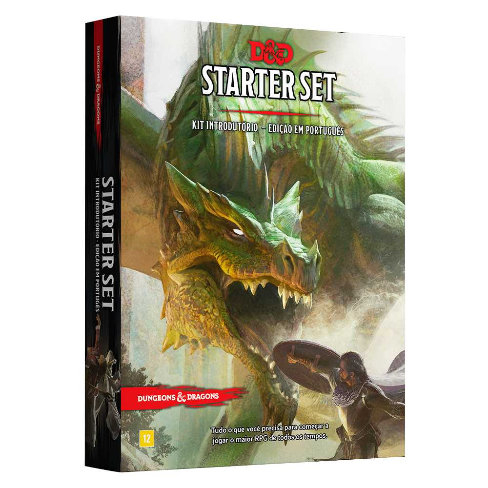 Dungeons Dragons Kit Introdutório - Starter Set