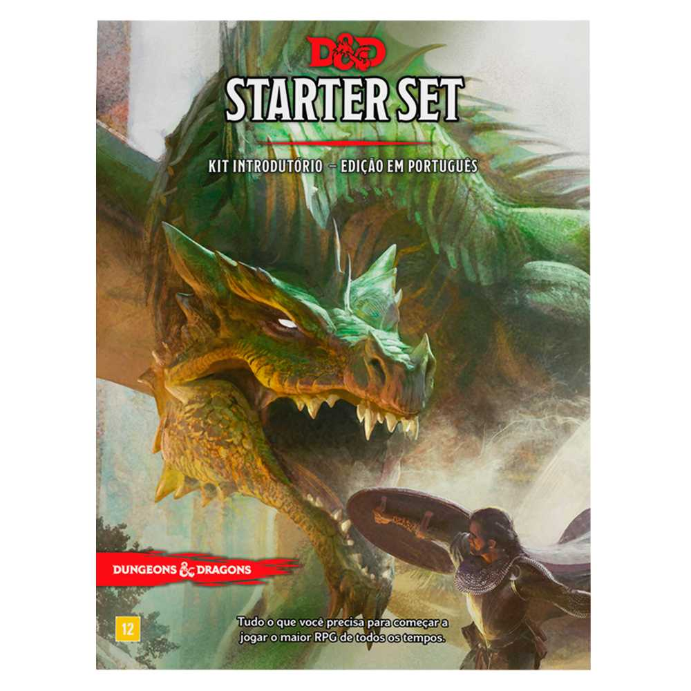 Dungeons Dragons Kit Introdutório - Starter Set