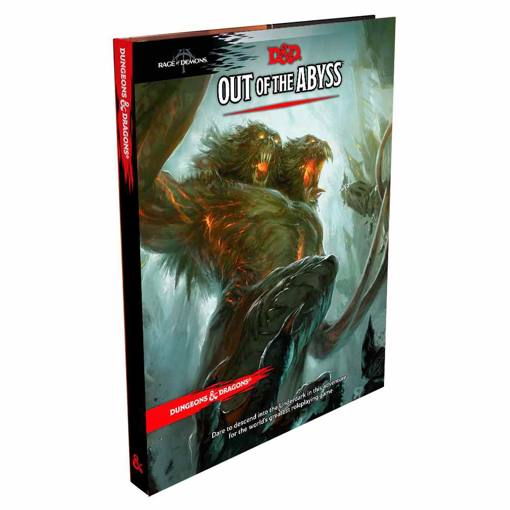 Dungeons Dragons Out Of The Abyss Livro Rpg Edition