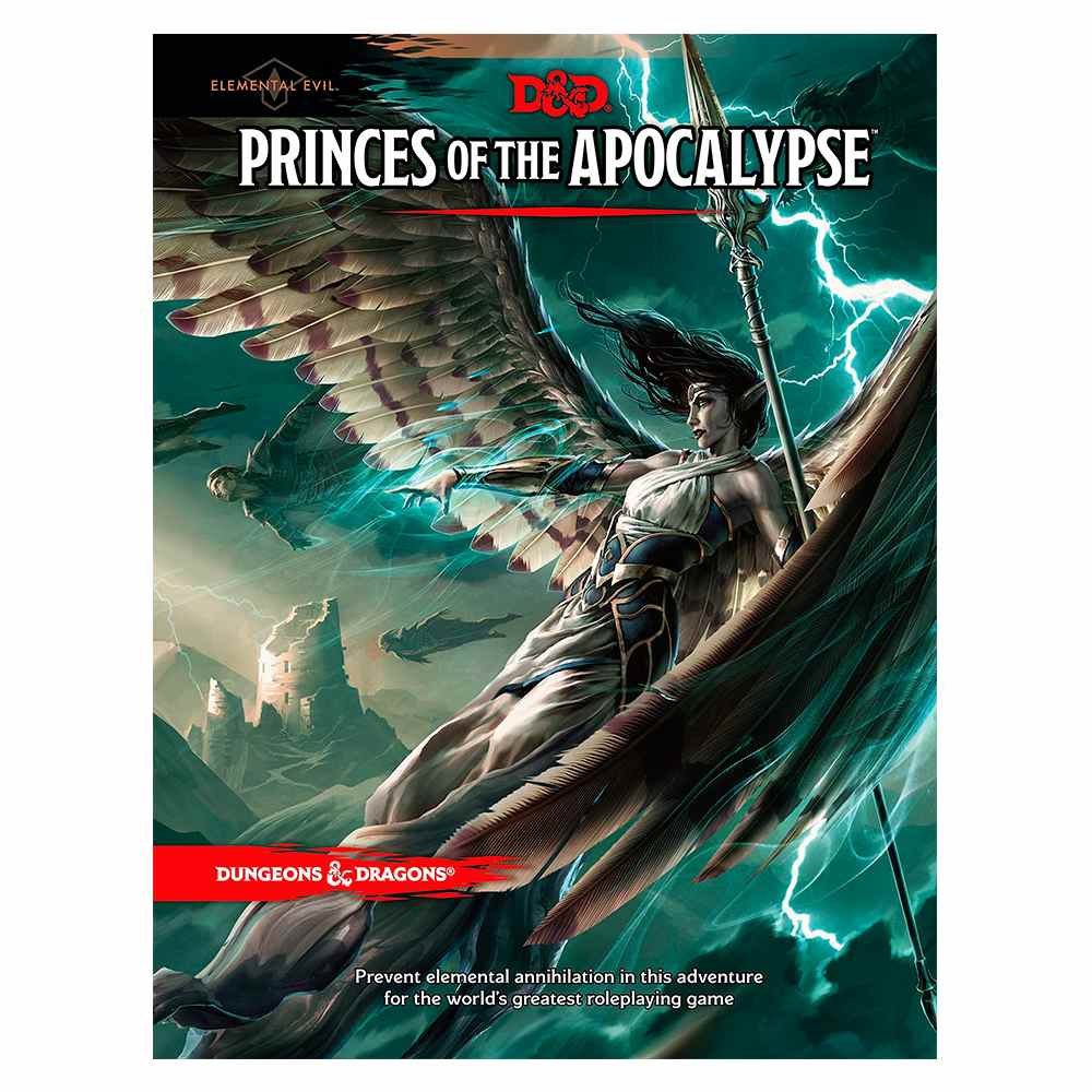 Dungeons Dragons Princes Of The Apocalypse Livro Rpg Edition