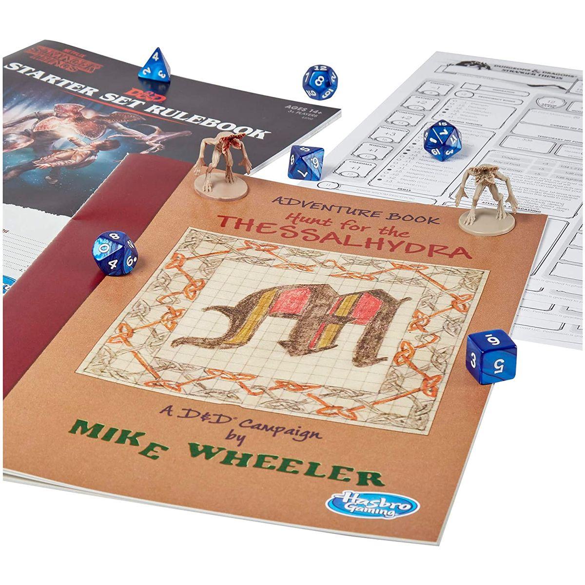 Dungeons Dragons Starter Set Stranger Things Inglês