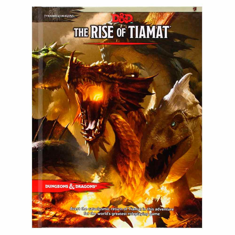 Dungeons Dragons The Rise of Tiamat Livro Rpg Edition