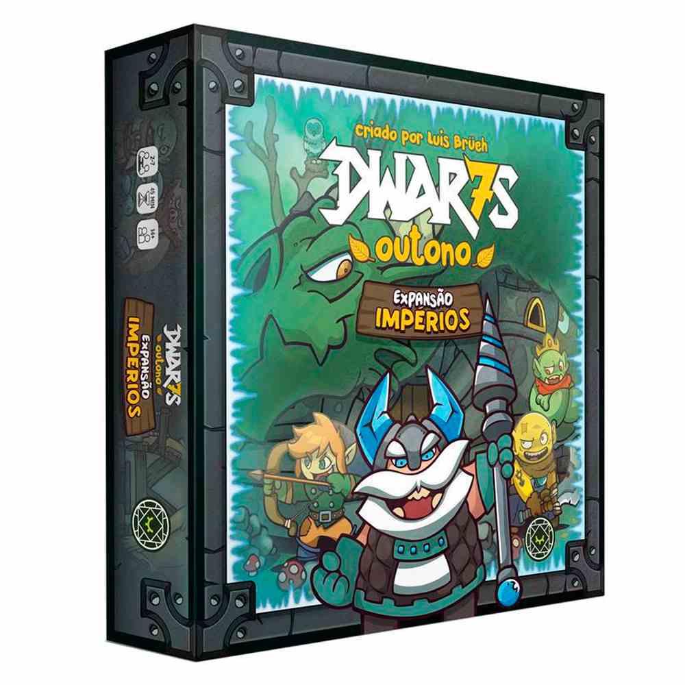 Dwar7s Outono Expansão Impérios Jogo de Tabuleiro