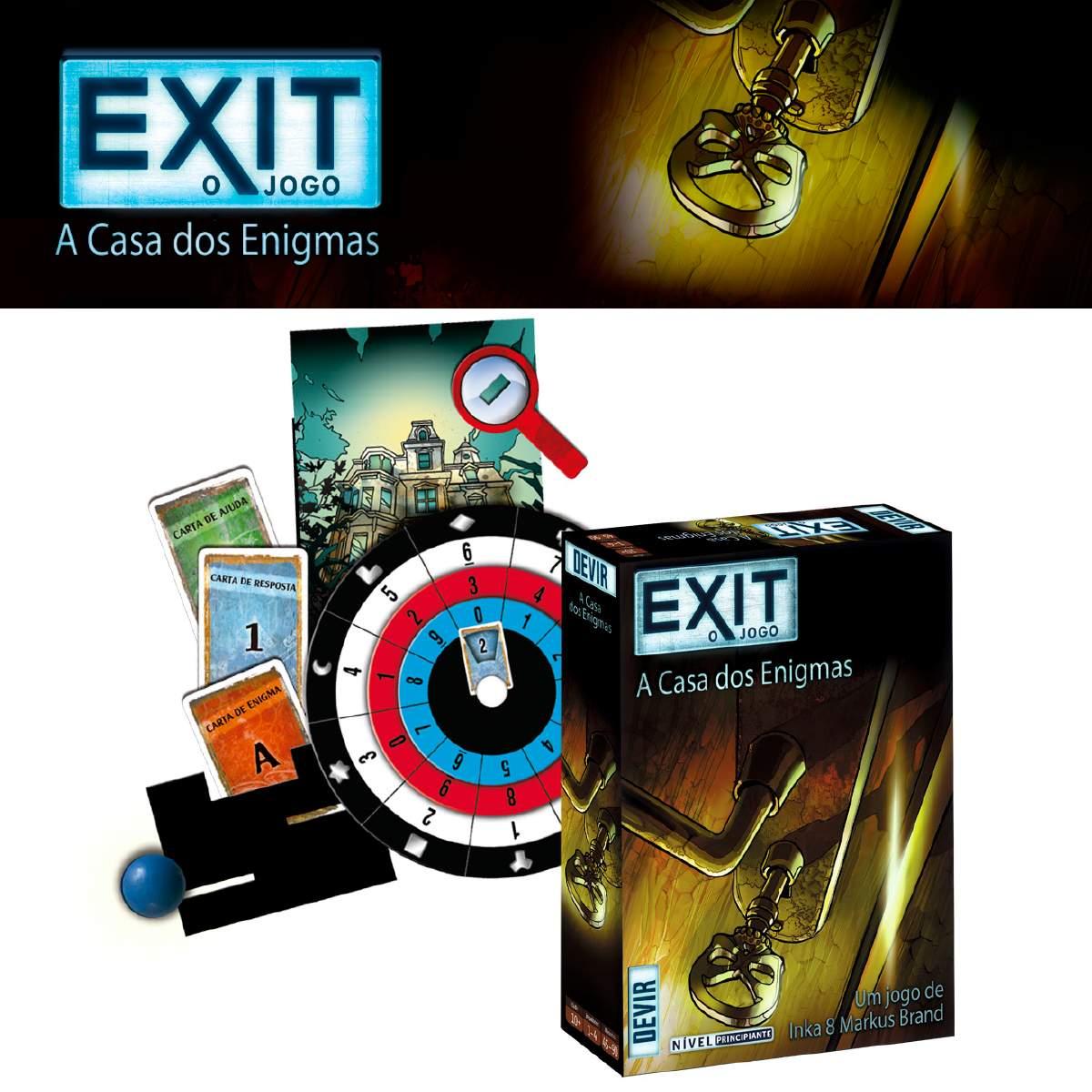 Exit A Casa dos Enigmas Devir