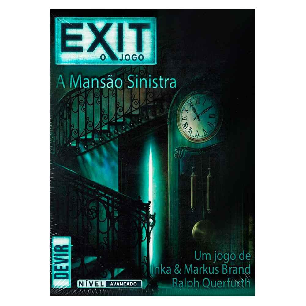 Exit A Mansão Sinistra Jogo Escape Room