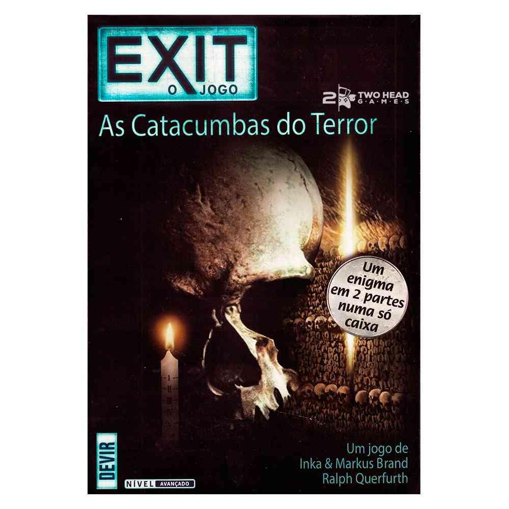 Exit As Catacumbas do Terror Jogo de Tabuleiro