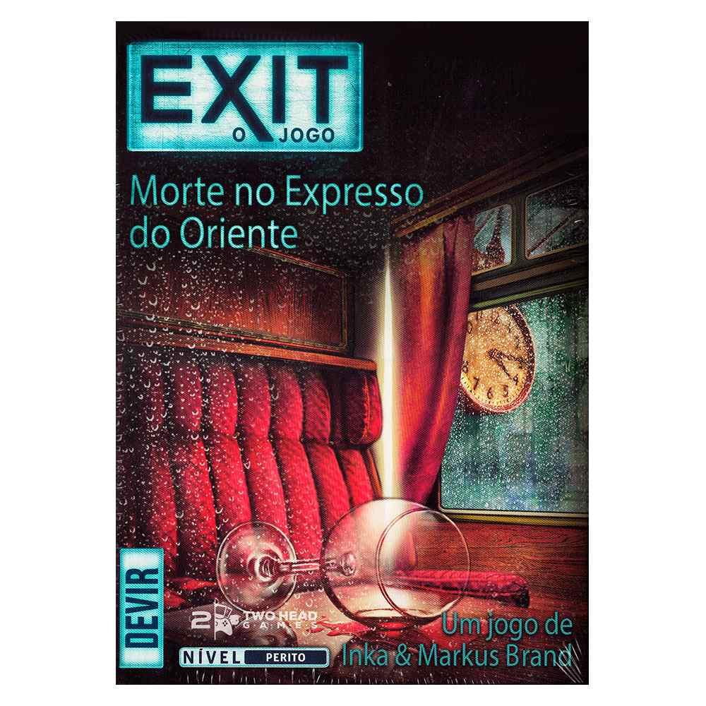 Exit Morte No Expresso Oriente Jogo de Tabuleiro