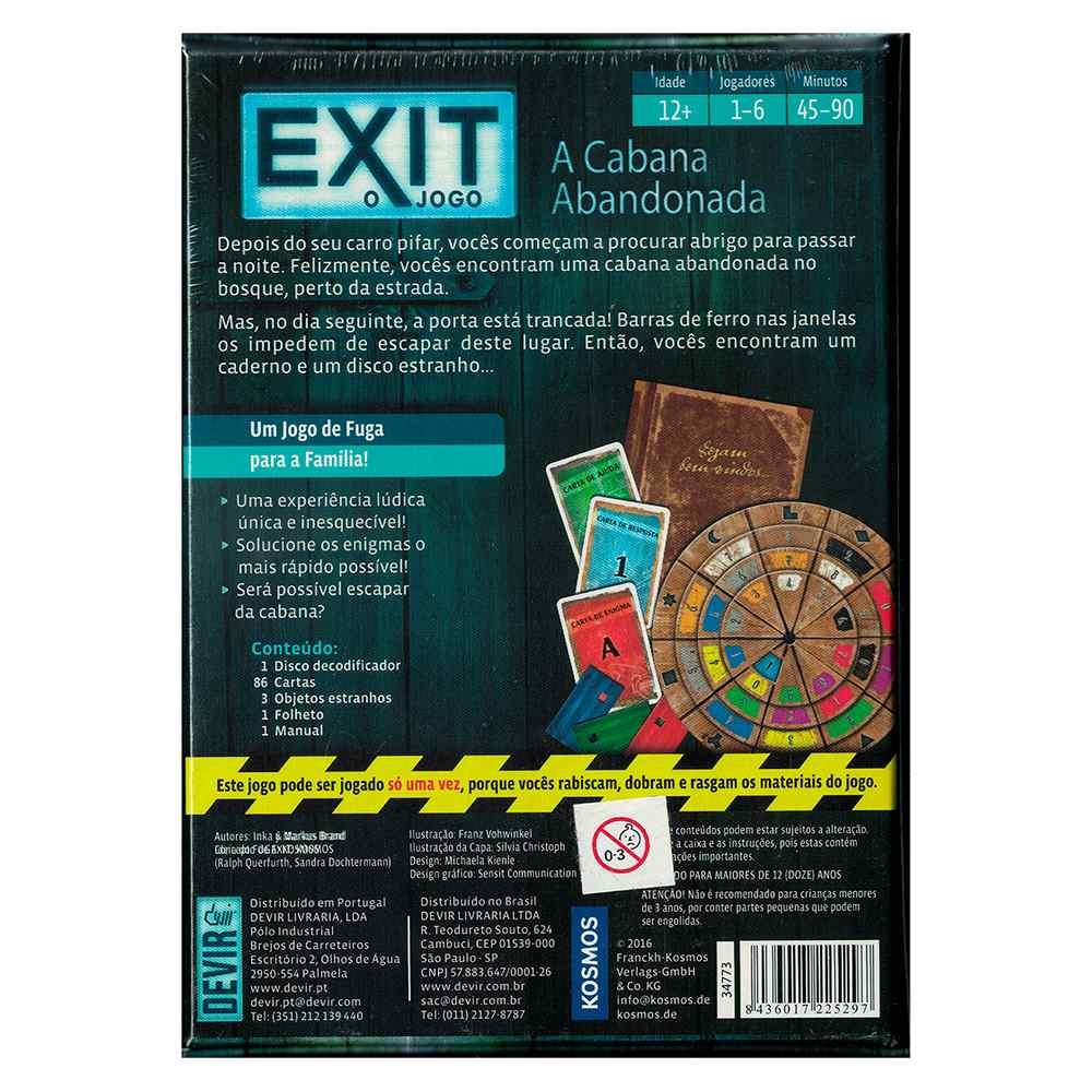Exit O Jogo A Cabana Abandonada