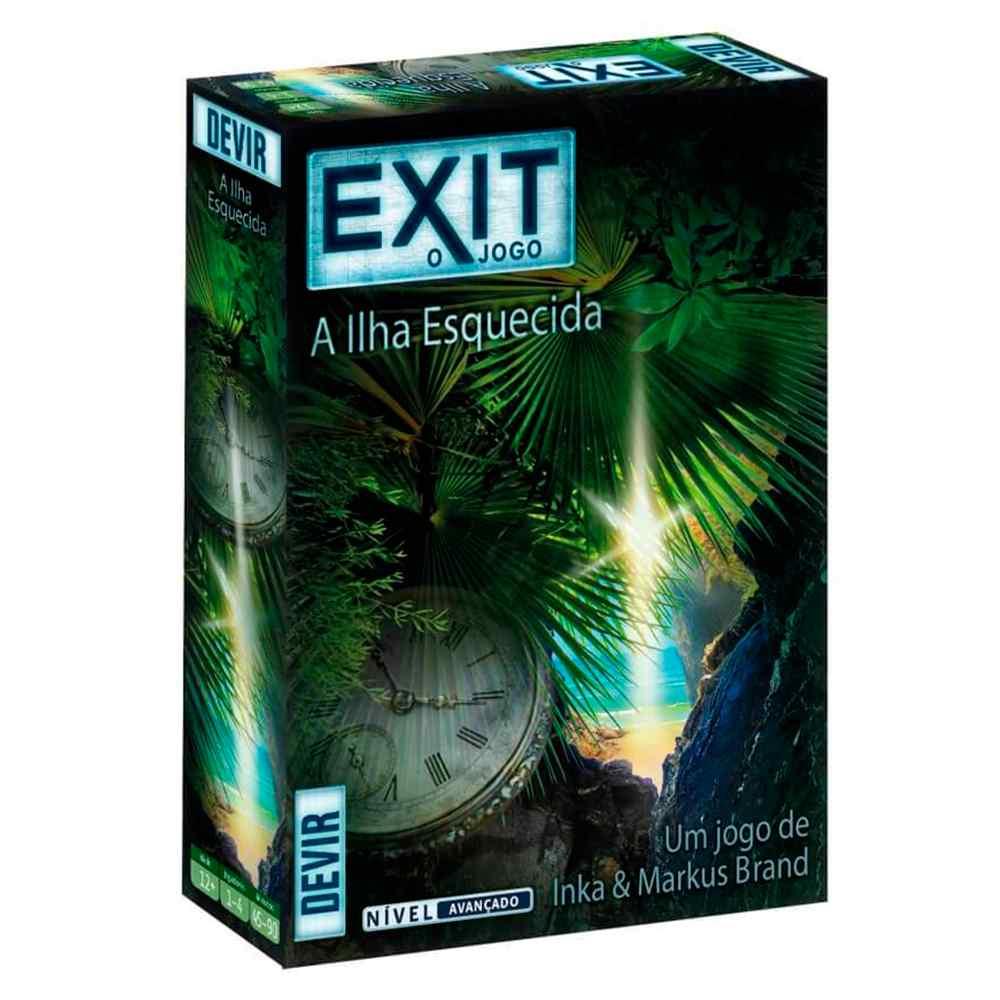 Exit O Jogo A Ilha Esquecida