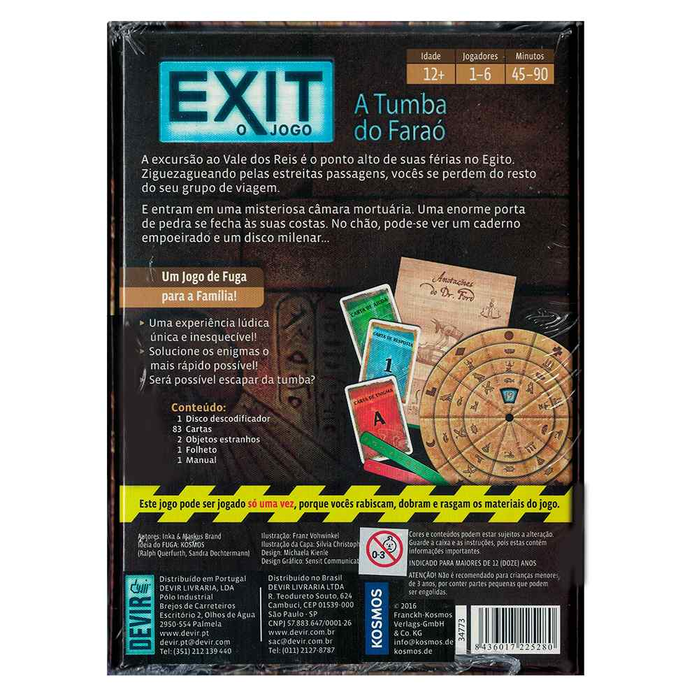 Exit O Jogo A Tumba do Faraó