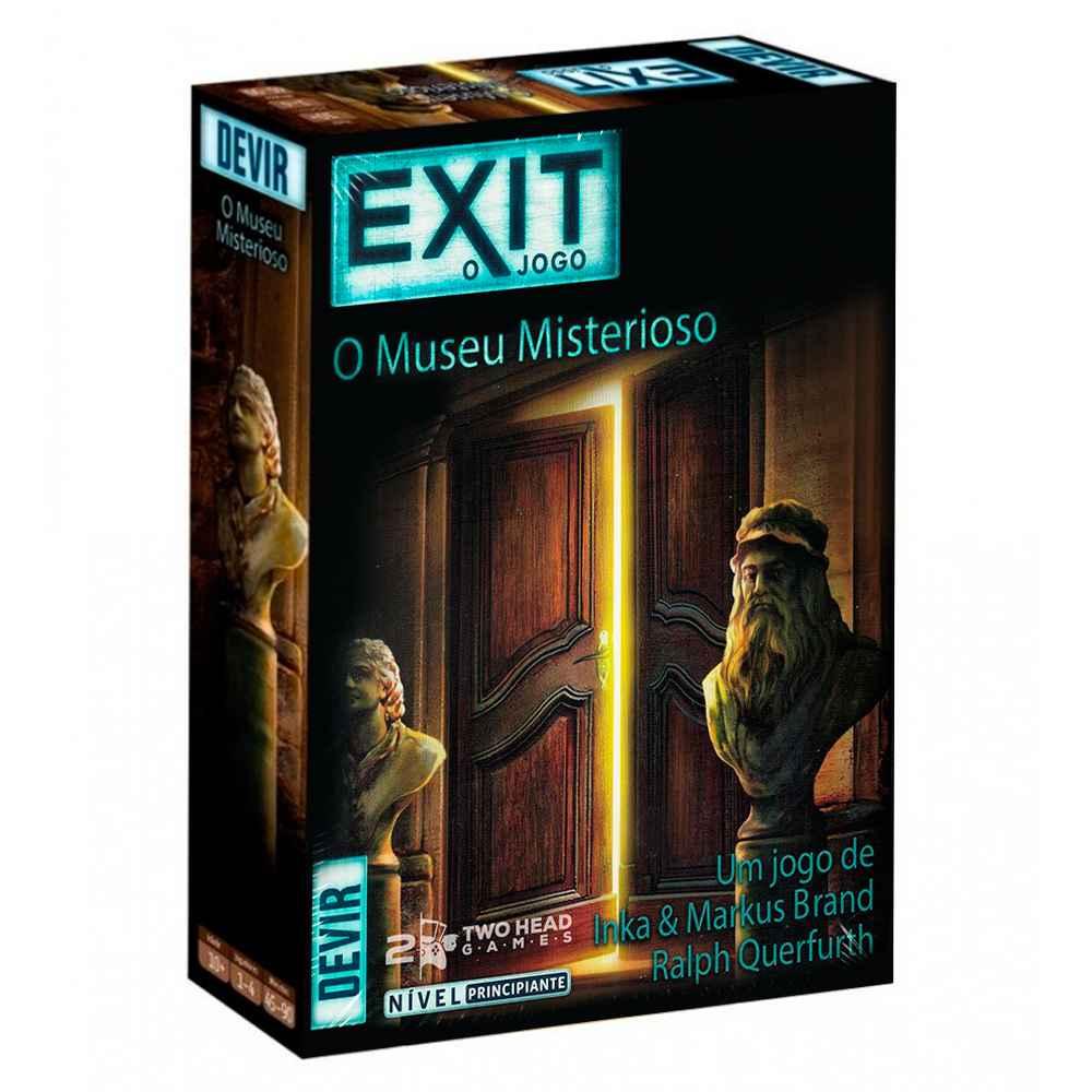 Exit O Museu Misterioso Jogo Escape Room