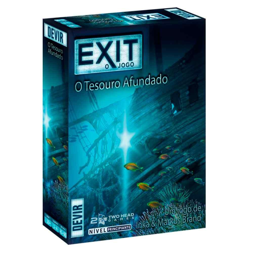 Exit O Tesouro Afundado Jogo de Tabuleiro