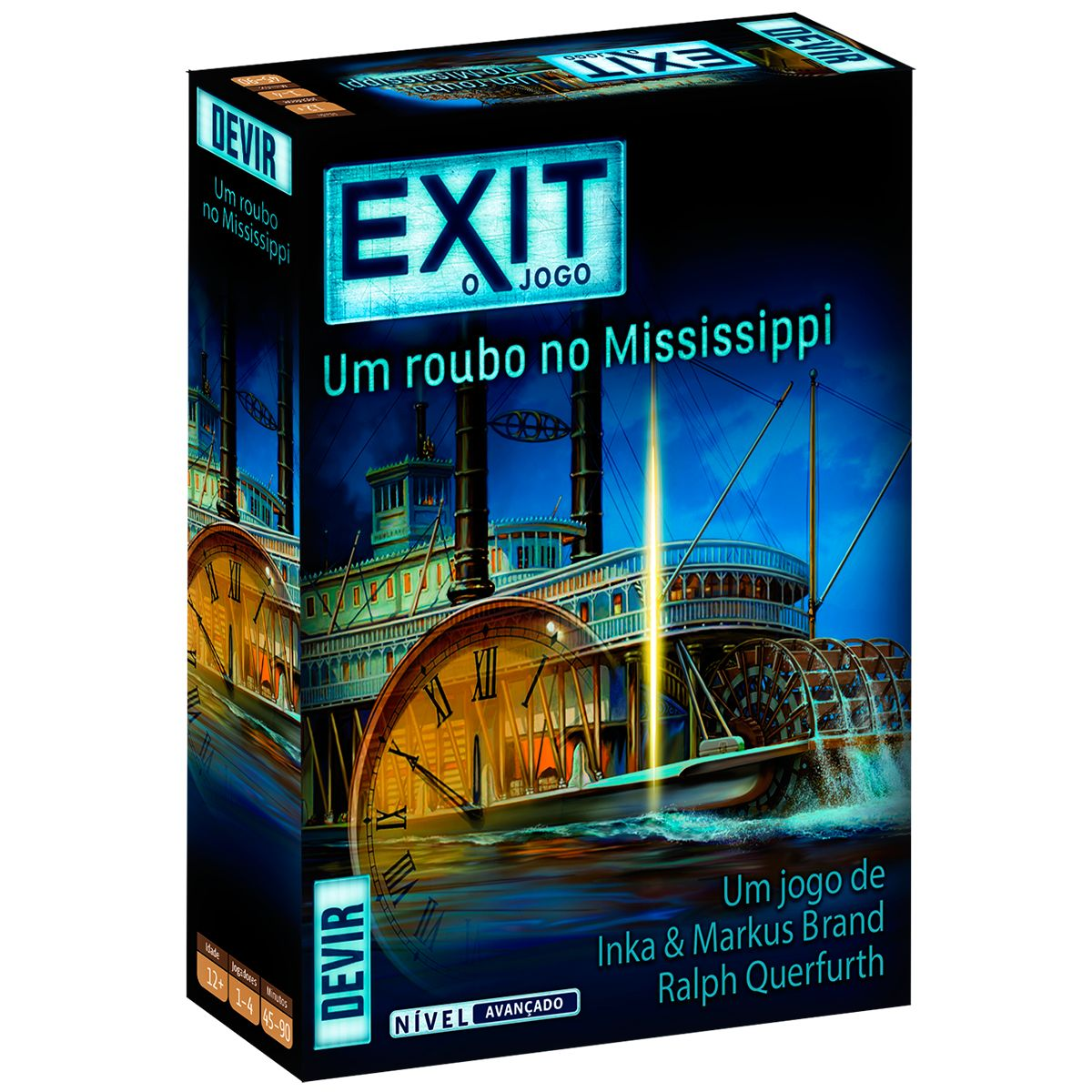 Exit Um roubo no Mississippi Scape Room