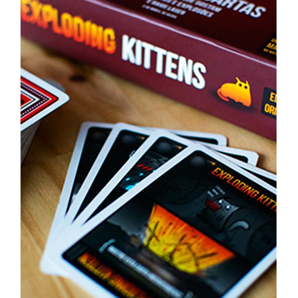 Exploding Kittens Um Jogo de Cartas