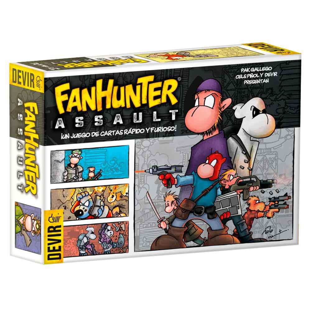Fanhunter Assault Jogo De Cartas