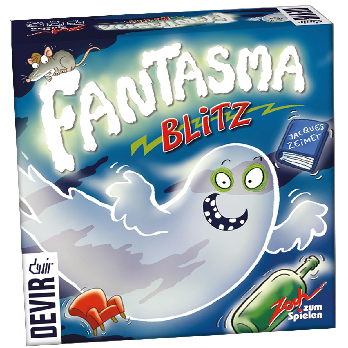 Fantasma Blitz Jogo de Tabuleiro Devir