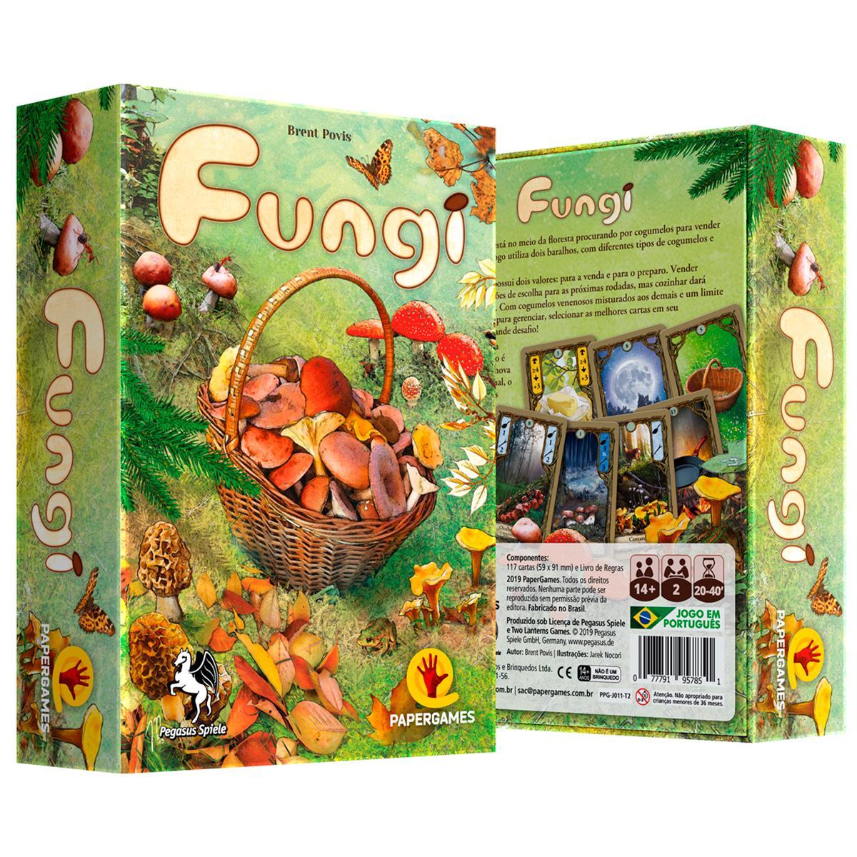 Fungi Jogo de Cartas Paper Games