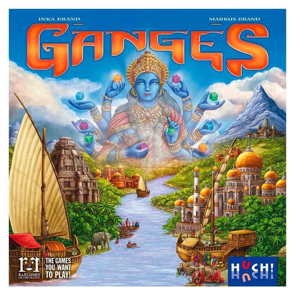 Ganges Jogo de Tabuleiro Devir